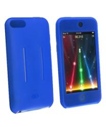 INSTEN Premium Soft Silicone Skin iPod Case Cover for Apple iPod Touch Gen2, Blue - Thumbnail 2