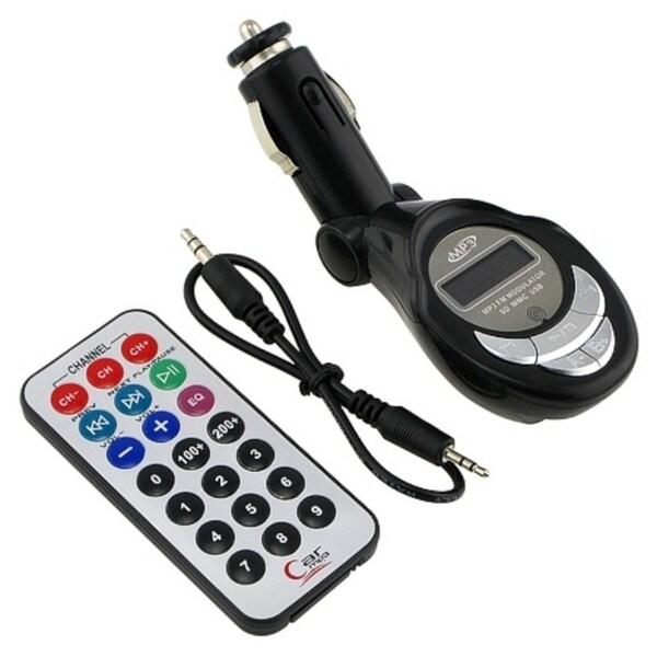 Eforcity Universal FM Transmitter w/ USB/SD/MMC Slot