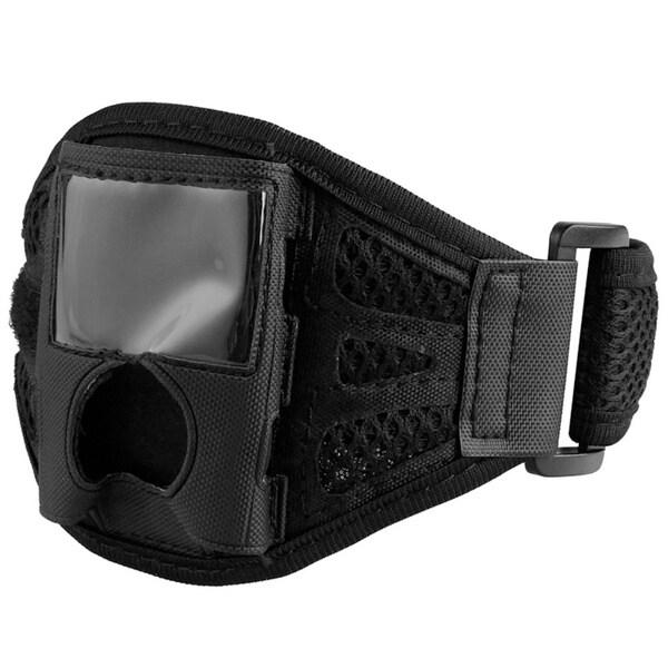 INSTEN Black Deluxe Velcro ArmBand for iPod Gen3 Nano