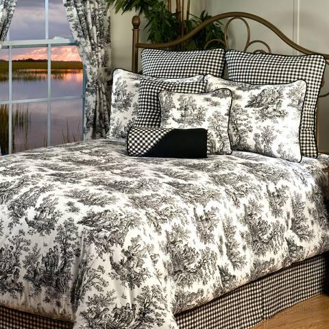 Plymouth King 10-piece Bedding Set