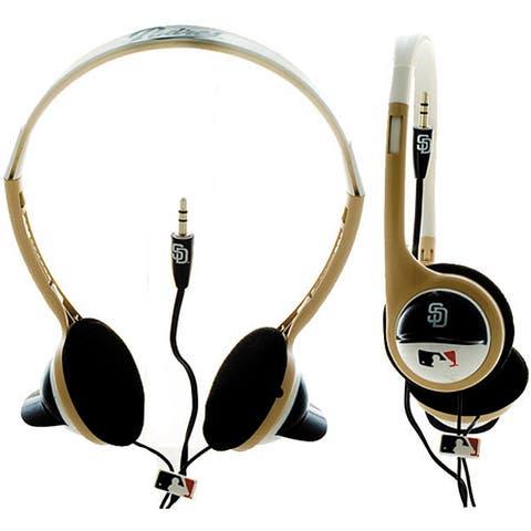 Nemo Digital MLF 10117SD MLB San Diego Padres Batting Helmet Overhead Headphones