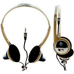 Nemo Digital MLF 10117SD MLB San Diego Padres Batting Helmet Overhead Headphones