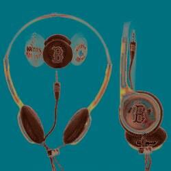 Nemo Digital MLF10118BS MLB Interchangeable Boston Red Sox Headphones - Thumbnail 1