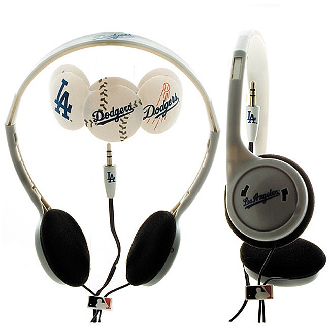 Nemo Digital MLF10118LAD MLB Los Angeles Dodgers Headphones