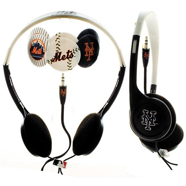 Nemo Digital MLF10118NYM MLB Interchangeable New York Mets Headphones