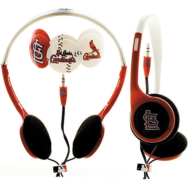 Nemo Digital MLF10118STL MLB St. Louis Cardinals Headphones