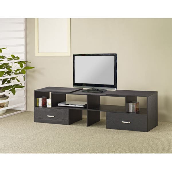 Furniture Of America Nees Modern 92 Inch Black Media Tv