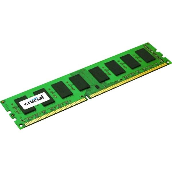 Crucial 2GB, 240-Pin DIMM, DDR3 PC3-10600 Memory Module