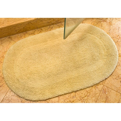 "Safavieh Spa Collection Beige Reversible 2400-Gram Bath Mats (Set of 2) - 2'3"" x 3'9"""
