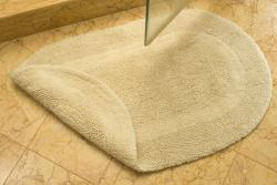Safavieh Spa Collection Cream Reversible 2400-Gram Bath Mats (Set of 2)