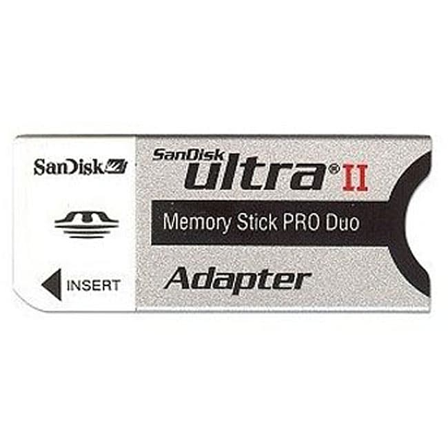 Sandisk Memory Stick Pro Duo Card Adapter