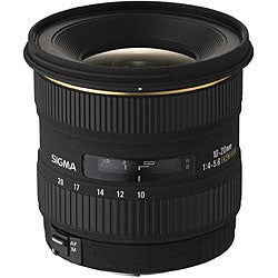 Sigma 10-20mm F4-5.6 EX DC HSM Lens for Sony