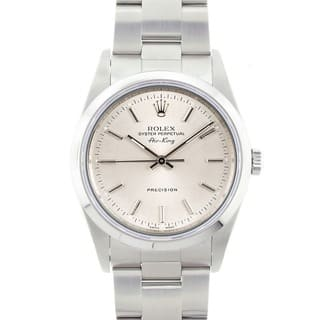 Pre-owned Rolex Men's Air King Precision Stainless Steel Watch|https://ak1.ostkcdn.com/images/products/4570268/P12506040.jpg?impolicy=medium