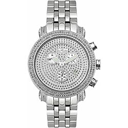 Joe Rodeo Men's Classic Diamond Water-Resistant Watch
