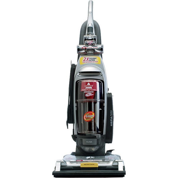 Bissell 4104r Powergroom Pet Cyclonic Vacuum Refurbished