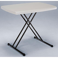 Lifetime 30-inch Almond Personal Folding Table - Thumbnail 0