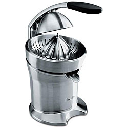 Breville 800CPXL Die-cast Stainless Steel Motorized Citrus Press (Refurbished)