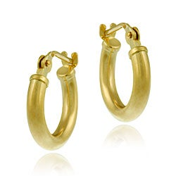Mondevio 10k Gold 11mm Mini Hoop Earrings