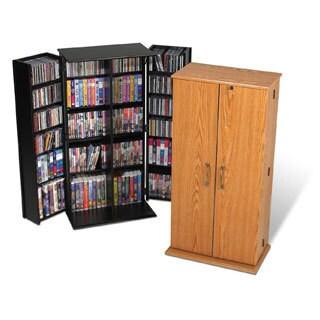 Tall Locking Media Storage Cabinet