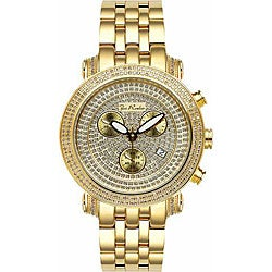 Joe Rodeo Men's Goldtone Diamond Watch