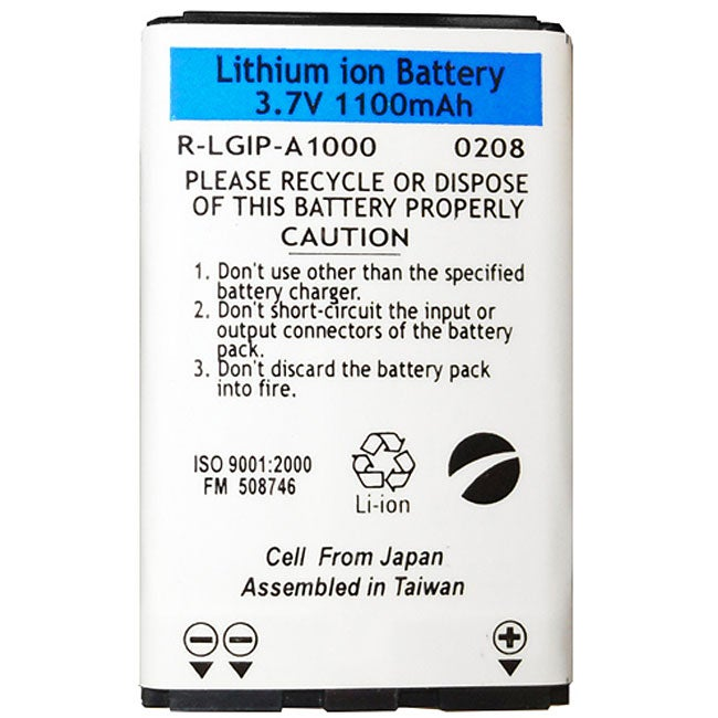 LG LGIP-A1000E Lithium Ion OEM Battery
