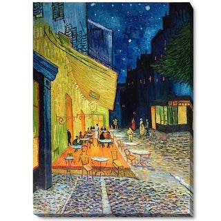 Van Gogh 'Cafe Terrace at Night' Canvas Wall Art