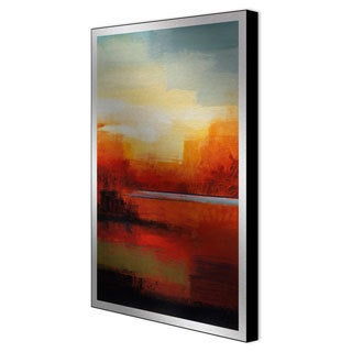 Gallery Direct Sean Jacobs 'In the Canyon I' Framed Metal Art
