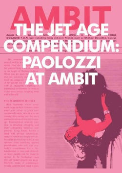 The Jet Age Compendium/ Paolozzi At Ambit (Paperback)