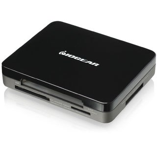 IOGEAR GUH287 3-port Mini Combo Hub and Card Reader