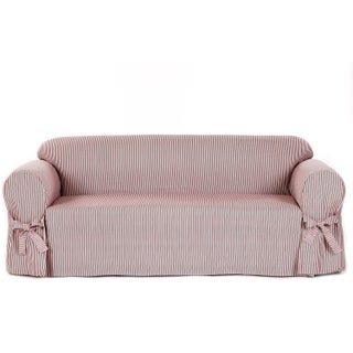 Classic Slipcovers Brushed Twill Sofa Slipcover (More options available)
