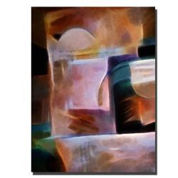 Adam Kadmos 'Shimmery' Gallery-wrapped Canvas Art - Thumbnail 1