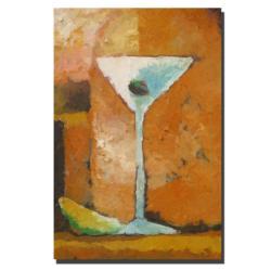Adam Kadmos 'Martini Grande' Gallery-wrapped Canvas Art - Thumbnail 1