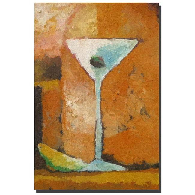 Adam Kadmos 'Martini Grande' Gallery-wrapped Canvas Art