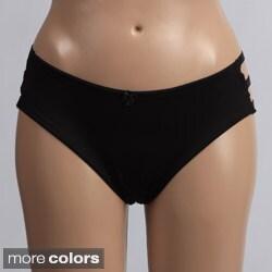 Donna di Capri Sexy Strappy Bikini Panties (Set of 3)