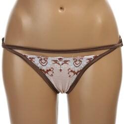 Donna di Capri Women's Overlay Lace Front Panties