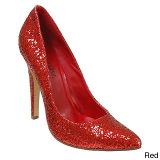 Liliana by Adi Women's Glittering Pointed-toe Stilettos