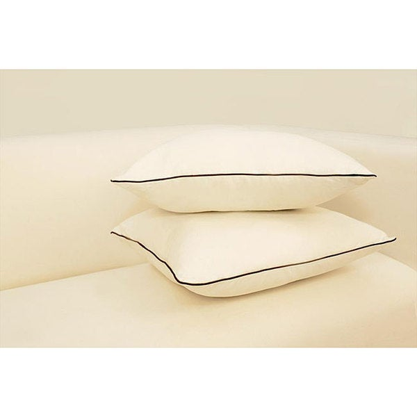 Bella Linen Cotton 18-inch Decorative Pillows (Set of 2)