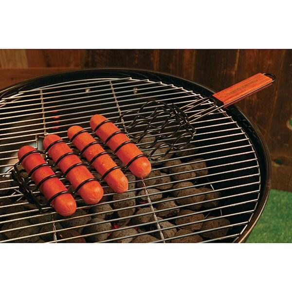 Nonstick Adjustable Sausage Grilling Basket