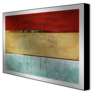 Gallery Direct Benjamin Deal 'Contemporary Ease II' Aluminum Art