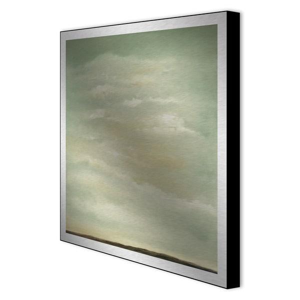 Gallery Direct Leslie Saris 'Perspective I' Framed Metal Art