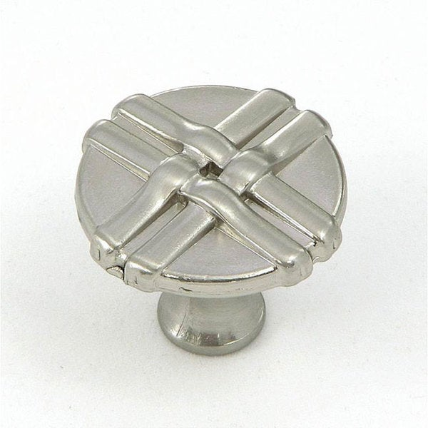 Stone Mill Satin Nickel Weave Cabinet Knobs (Pack of 10). Opens flyout.