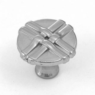 Stone Mill Satin Nickel Weave Cabinet Knobs (Pack of 25)