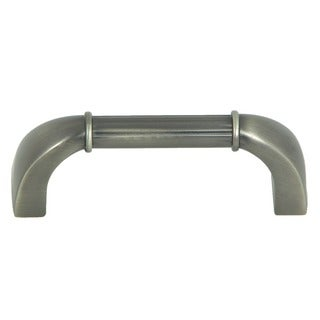 Stone Mill Athens Weathered Nickel Bar Cabinet Pull (Pack of 5)
