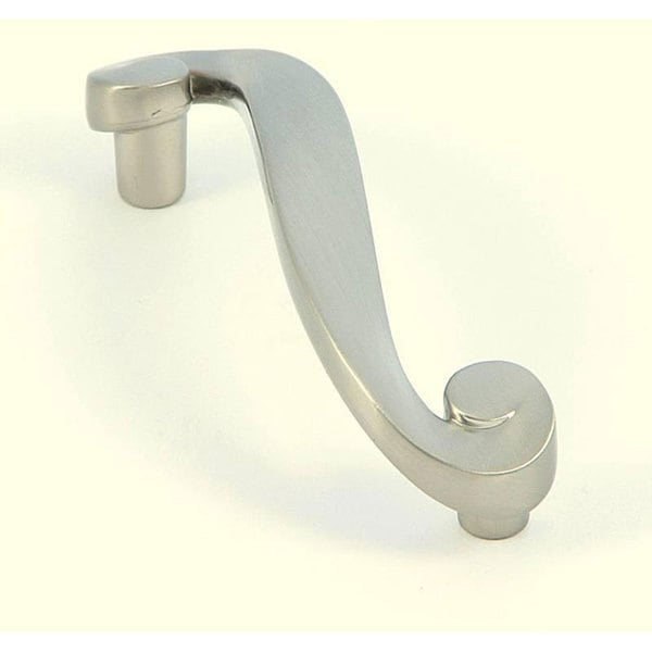 stone mill satin nickel hawthorne cabinet hardware pull pack of 25 click to zoom