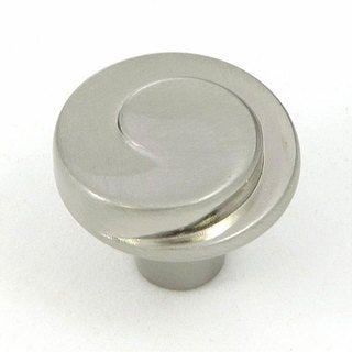 Stone Mill Hawthorne Satin Nickel Metal Cabinet Knobs (Pack of 5)