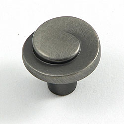 Stone Mill Hawthorne Satin Nickel Cabinet Knobs (Pack of 10 ...