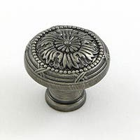 Stone Mill Weathered Nickel Florence Cabinet Knobs (Pack of 25)