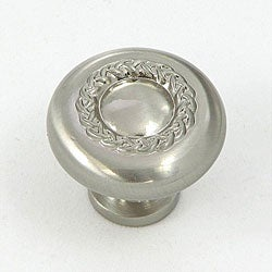 Stone Mill Rope Design Satin Nickel Cabinet Knobs (Pack of 10)