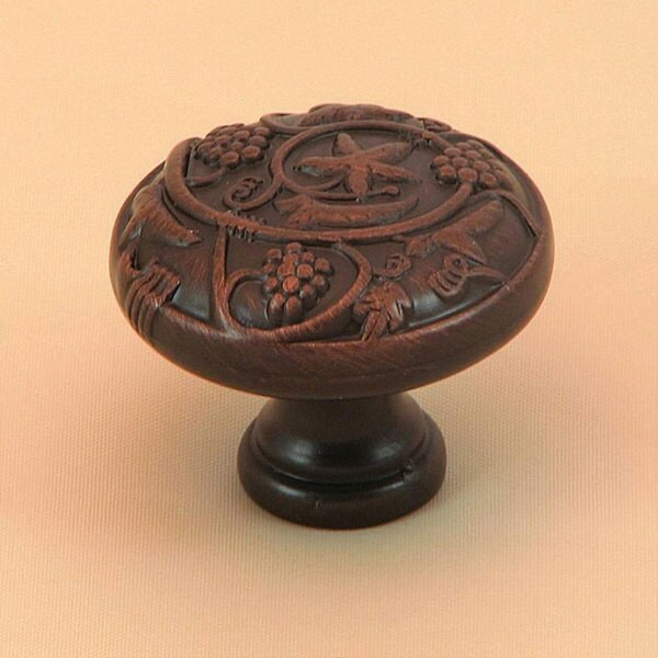 Stone Mill Oil-rubbed Bronze Napa Valley Cabinet Knob (Pack of 5)