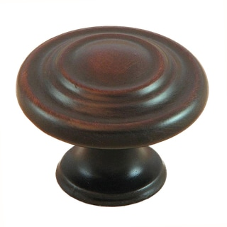 Stone Mill Oil Rubbed Bronze Three-ring Cabinet Knobs (Pack of 5)